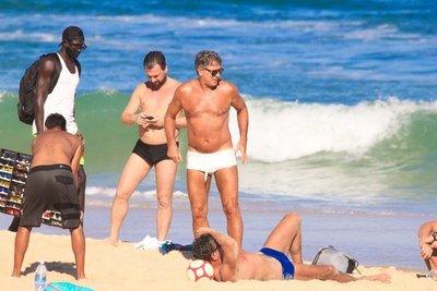 Escándalo en Brasil en torno a Renato Gaúcho y su salida a la playa