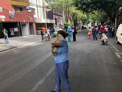 Sismo de 7,5 sacude el sur de México, de momento sin reporte de daños