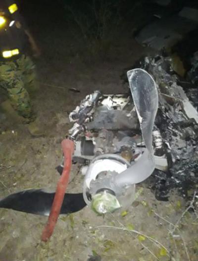 Un fallecido tras accidente aéreo en Bahía Negra
