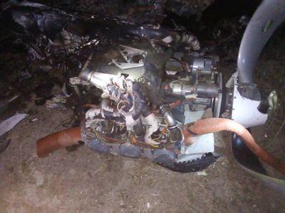 Avioneta brasileña cae en zona de Bahía Negra tras estallar en el aire
