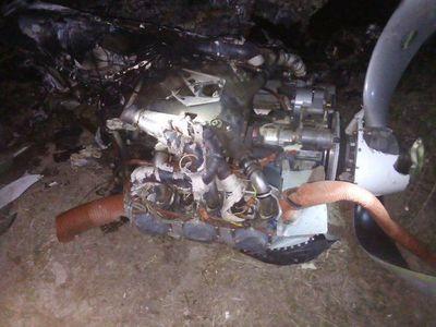 Cayó avioneta y murió el piloto, en Bahía Negra