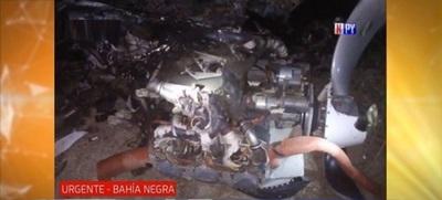 Avioneta explotó en pleno vuelo – Prensa 5
