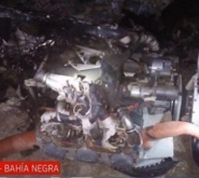 Avioneta explota en pleno vuelo, el piloto falleció