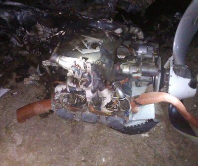 Avioneta explotó en el aire y dejó un fallecido