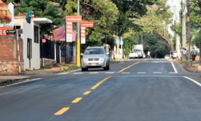 HOY / Optimizan una arteria que une las dos principales avenidas de Asunción