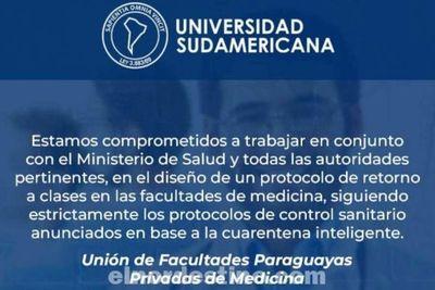 En breve Universidad Sudamericana retoma las clases presenciales cumpliendo estrictamente los protocolos sanitarios