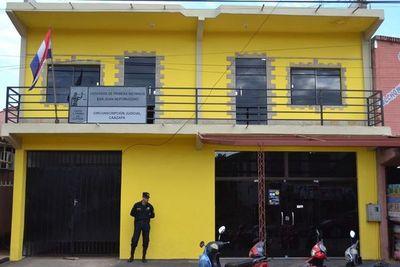 Guardiacárceles de Ciudad del Este con Covid-19 estuvieron en juzgado de San Juan Nepomuceno