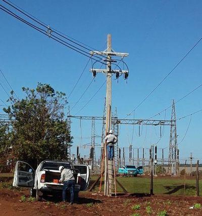 Habilitan nueva línea de media tensión para sistema eléctrico de Alto Paraná