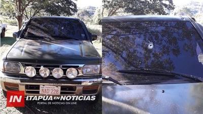 BUSCAN A AUTORES DEL ATENTADO A EFECTIVOS POLICIALES EN SAN PEDRO DEL PNÁ.
