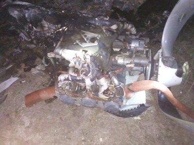 Avioneta okapu en el aire y el piloto murió