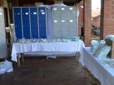 El servicio neonatal del Hospital  de Encarnación recibe una donación