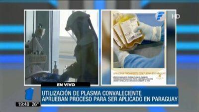 Tratarán con plasma a pacientes con Covid-19