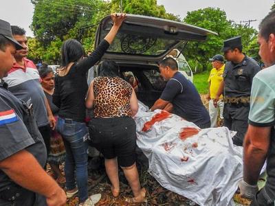 Cae uno de los os autores de CUADRUPLE HOMICIDIO en Franco