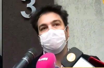 """Oscar Tuma calificó su escrache como """"parte del show"""""""