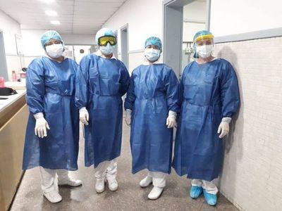 Ayolas; los 16 personales de blanco del Hospital, dieron negativo al COVID-19