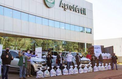 Grupo Sarabia llega con 90.200 kilos de alimentos a 4.100 familias rurales