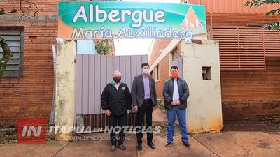 HABILITAN OFICIALMENTE ALBERGUE EN MA. AUXILIADORA