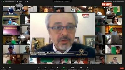 Benigno López Miente, Afirma Senador