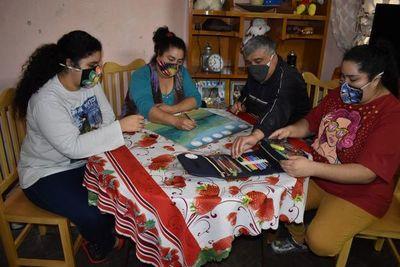 Organizan concurso de dibujo y pintura grupal en Itauguá