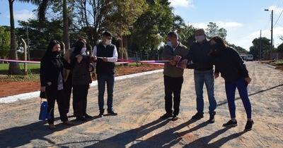 Inauguran empedrados en Tayazuape