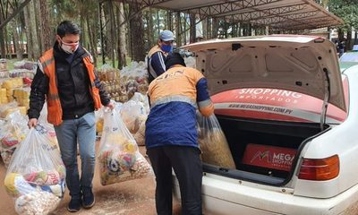 La Gobernación de Alto Paraná no para con  asistencias alimentarias a familias vulnerables – Diario TNPRESS