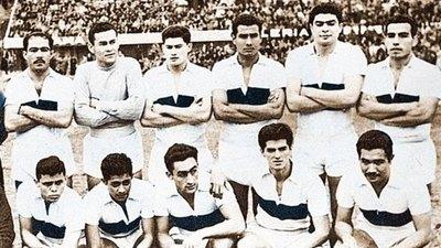 Olimpia, primer finalista y subcampeón de la Libertadores 60 años atrás