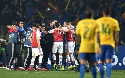 El día que la Albirroja eliminó a Brasil de la Copa América por segunda vez consecutiva