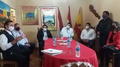 Municipalidad de Horqueta entrega 50 millones de guaranies al Concejo Local de Salud