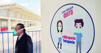 Ecuador descarta reconfinamiento y fortalecerá control en su capital por coronavirus