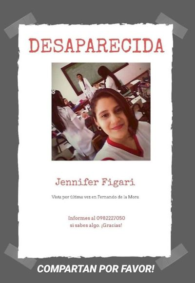 Joven enfermera se encuentra desaparecida desde el pasado miércoles