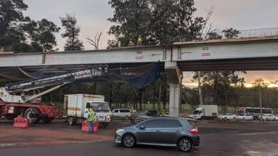 HOY / Habilitarán calles alternativas por cierre del tramo sobre Primer Presidente