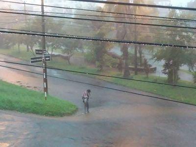 Intensas lluvias en el Sur