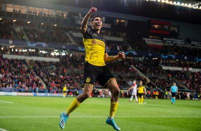 Hakimi se despide del Dortmund con una emotiva carta