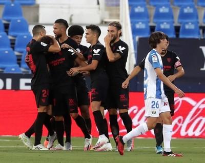 Sevilla celebra y Leganés se hunde