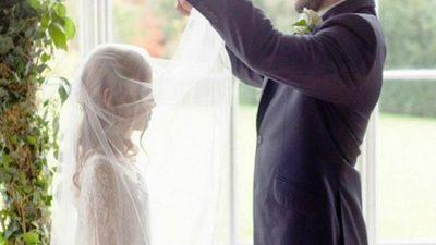 Casi 2.500 menores de edad se unieron en matrimonio
