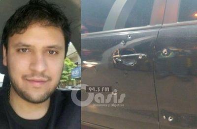 Funcionario bancario fue atacado a tiros en Pedro Juan