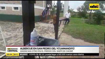 Habilitan albergue en San Pedro del Ycuamandiyú