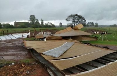 Temporal causa destrozos en diversas localidades