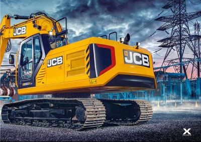 JCB lanza al mercado primera excavadora impulsada a nitrógeno