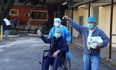 """""""Aháma che rógape"""" expresó el abuelito que venció al coronavirus"""