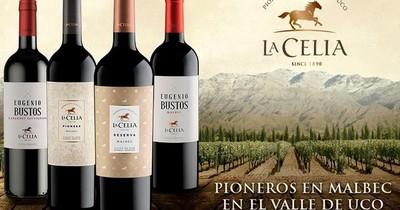 Llegan al país los reconocidos vinos Finca La Celia y Misiones D' Rengo