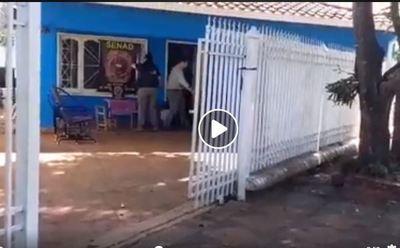 SENAD: Allanan casas de supuestos traficantes de Caaguazú