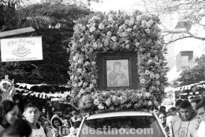 La ciudad de Pedro Juan Caballero celebró la fiesta de su Santa Patrona, Nuestra Madre del Perpetuo Socorro