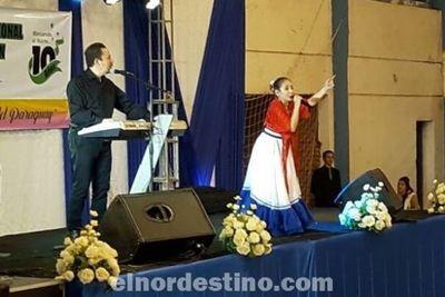 Con la presencia de Jazmín del Paraguay se iniciaron los festejos por el aniversario de la Universidad Nacional de Concepción