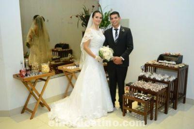 Enlace Matrimonial de Patricia Agüero y André Morilha en el Salón Infinity de Pedro Juan Caballero