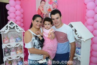 El Primer Añito de Samantha Micaela en el Salón AC María Victoria de Pedro Juan Caballero