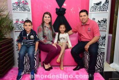 Los Siete Añitos de Ingrid Soledad González Villalba en Cumple Fiest de Pedro Juan Caballero