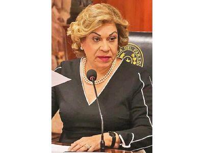 Gladys Bareiro  declaró cuentas hasta de EEUU y Suiza