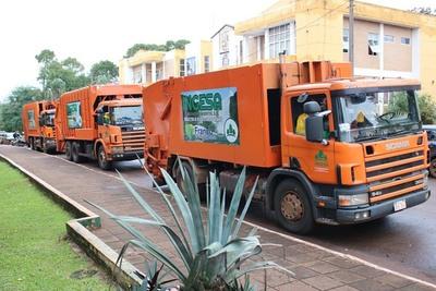 Itinerarios de la nueva empresa recolectora de basura en Franco