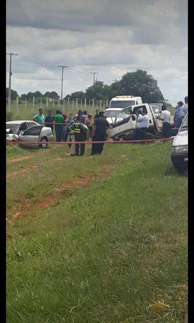 Joven pierde la vida en accidente de tránsito en Juan Manuel Frutos